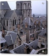 Rooftops Of Blois In France 2 Acrylic Print