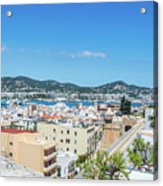 Rooftops Of Ibiza 4 Acrylic Print
