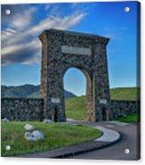 Roosevelt Arch At Yellowstone Dsc2522_05252018 Acrylic Print
