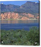 Roosevelt Lake - Panoramic Acrylic Print