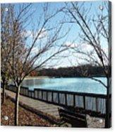 Roosevelt Lake Promenade Acrylic Print