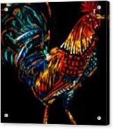 rooster  Gallo Giro Acrylic Print