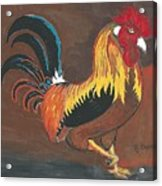 Rooster#1 Acrylic Print