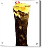 Root Beer Float Acrylic Print