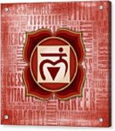 Root Chakra - Awareness Acrylic Print