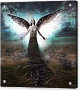 Rooted Angel Acrylic Print