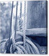 Rope And Mast Acrylic Print