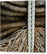 Ropes And Fishing Nets Acrylic Print