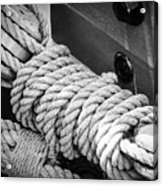 Ropes And Pulleys Acrylic Print