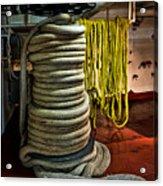 Ropes Acrylic Print