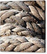 Ropes. Acrylic Print
