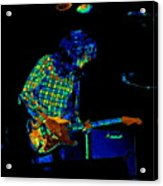 Saturated Blues Rock Acrylic Print