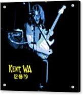 Rory Kent Blues Acrylic Print