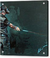 Rory Mcilroy Acrylic Print