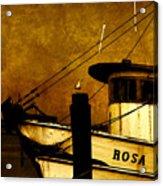 Rosa Marie Acrylic Print