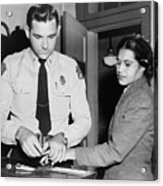 Rosa Parks 1913-2005, Whose Refusal Acrylic Print