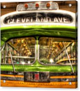 Rosa Parks Bus Dearborn Mi Acrylic Print