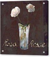 Rosa Rosae Acrylic Print