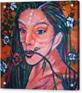 Rosales Latina Acrylic Print