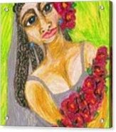 Rosamie Acrylic Print
