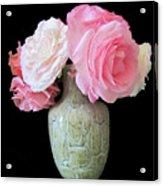 Rose Bouquet Stilllife Acrylic Print