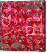 Rose Bubbles Acrylic Print