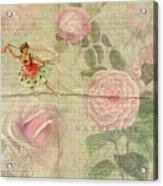 Rose Dancer Acrylic Print