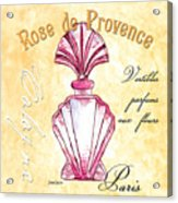 Rose De Provence Acrylic Print