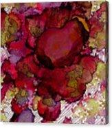 Rose Deep Acrylic Print