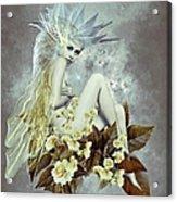 Rose Fairy Acrylic Print