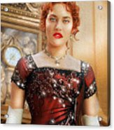 Rose From Titanic Acrylic Print