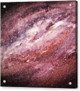 Rose Galaxy Acrylic Print