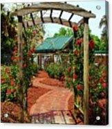 Rose Garden Entrance Acrylic Print
