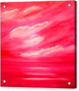 Rose Heaven Acrylic Print