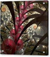 Rose Hip Bush Acrylic Print