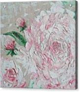 Rose Of Love Acrylic Print