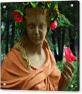 Rose Of The Garden Acrylic Print