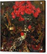 Rose On The Carpet Acrylic Print