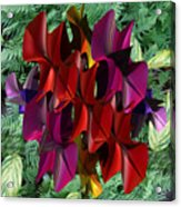 Rose Orchid Acrylic Print