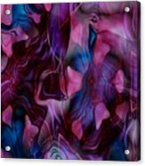 Rose Petal Acrylic Print