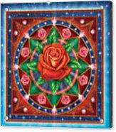 Rose - Pure Love Acrylic Print