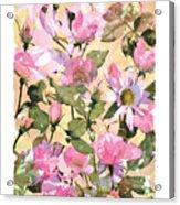 Rose Refraction Acrylic Print