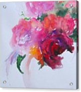 Rosebowl 1 Acrylic Print
