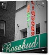 Rosebud Liquors Acrylic Print