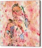 Rosebud Survivor Acrylic Print