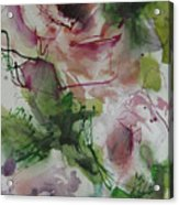 Rosebuds Acrylic Print