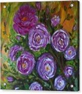 Rosebush Acrylic Print