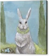 Rosemary Rabbit Acrylic Print