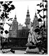 Rosenborg's Rose Garden Acrylic Print