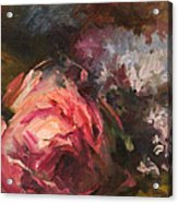 Roses And Lilacs Acrylic Print